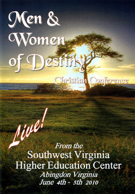 Men & Women Of Destiny Christian Conference - Front Cover